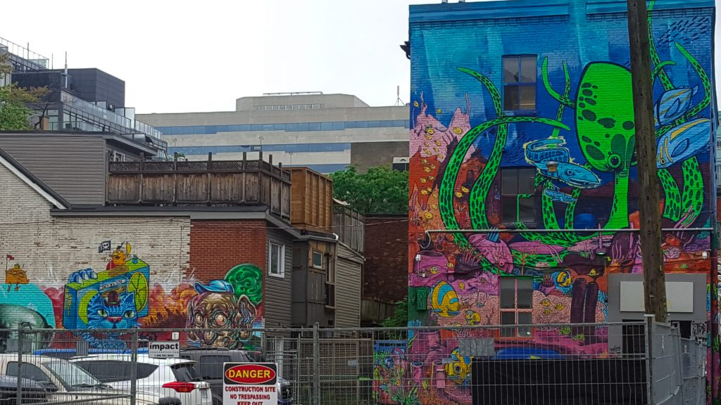 Graffiti Alley, it is basically an alley!