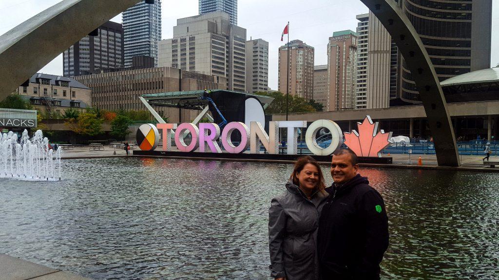3D Toronto Sign